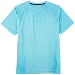 RB3 Active Mens Stripe Panel T-Shirt