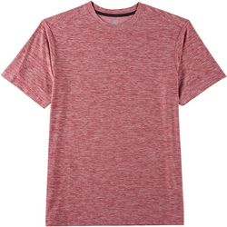 RB3 Active Mens Heathered Knit Solid T-Shirt