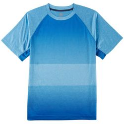 RB3 Active Mens Heathered Performance Raglan T-Shirt