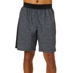 RB3 Active Mens Athletic Digital Print Woven Shorts