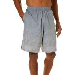 RB3 Active Mens Athletic Camo Print Woven Shorts