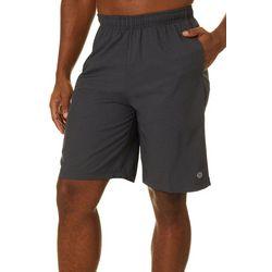 RB3 Active Mens Geometric Print Athletic Shorts
