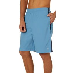 RB3 Active Mens Woven Mesh Panel Athletic Shorts