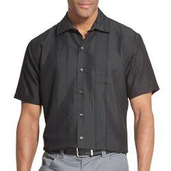 71d84f1302922 Van Heusen Mens Air Vertical Stripe Short Sleeve Shirt