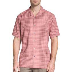 Van Heusen Mens Horizontal Stripe Short Sleeve Shirt