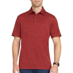 Van Heusen Mens Big & Tall Air Space Dye Polo Shirt
