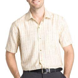 Van Heusen Mens Big & Tall Bamboo Short Sleeve Shirt