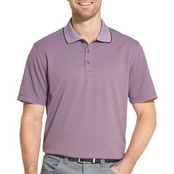 Van Heusen Mens Air Two-Tone Stripe Polo Shirt