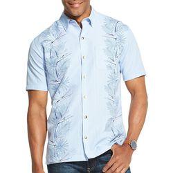 Van Heusen Mens Air Non-Iron Tropical Short Sleeve Shirt