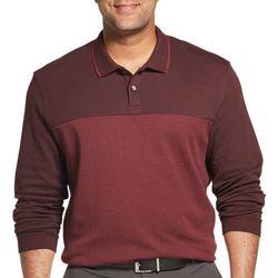 Van Heusen Mens Big & Tall Flex Colorblock Polo Shirt