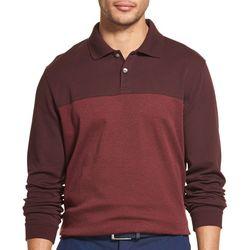Van Heusen Mens Flex Colorblock Polo Shirt