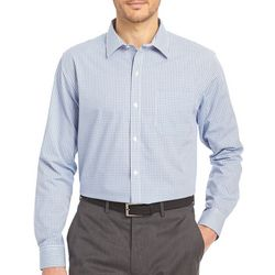 Van Heusen Mens Blue Mazarine Traveler Shirt