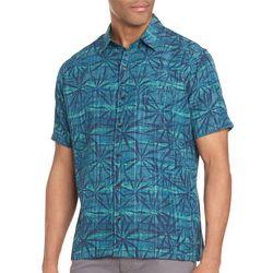 Van Heusen Mens Big & Tall Leaf Shirt