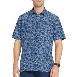Van Heusen Mens Big & Tall Sunburst Print Shirt
