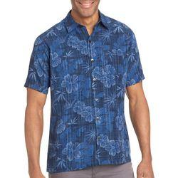 Van Heusen Mens Big & Tall Floral Print Shirt