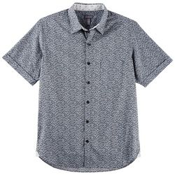 Van Heusen Mens Abstract Never Tuck Shirt
