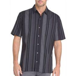 Van Heusen Mens Big & Tall Vertical Stripe Button Down Shirt