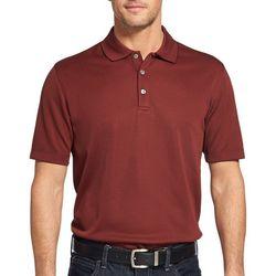Van Heusen Mens Air Birdseye Solid Polo Shirt