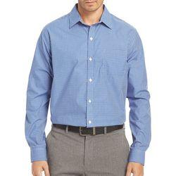 Van Heusen Mens Big & Tall Check Traveler Shirt