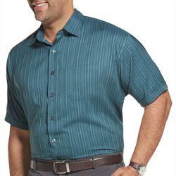 Van Heusen Mens Big & Tall Seersucker Texture Shirt