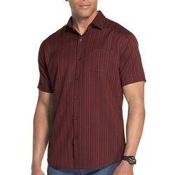 Van Heusen Mens Big & Tall Seersucker Texture Shirt