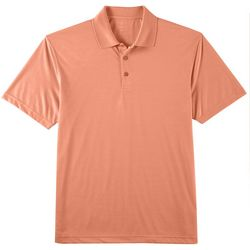 Haggar Mens Stretch Marled Polo Shirt