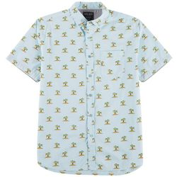 Alpha Beta Mens Palm Print Shirt