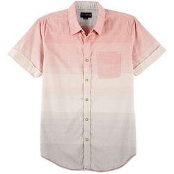 Ocean Current Mens Mid-Way Ombre Stripe Shirt