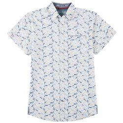 Good Vibes Mens Whale Print Shirt
