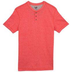 Lee Mens Henry Textured Henley T-Shirt