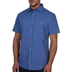 Lee Mens Mason Palm Tree Short Sleeve Shirt