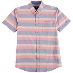 Lee Mens Matthew Stripe Short Sleeve Shirt