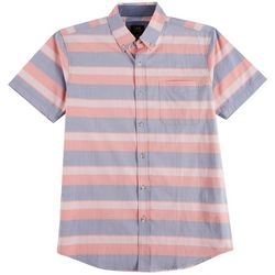 Lee Mens Matthew Stripe Woven Button Down Shirt