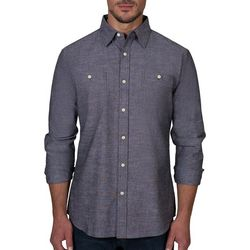 Lee Mens Jackson Chambray Button Down Long Sleeve Shirt