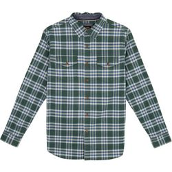 Lee Mens Stellan Plaid Button Down Shirt