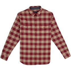 Lee Mens Baron Plaid Button Down Shirt
