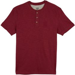 Lee Mens Weekender Henley T-Shirt
