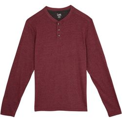 Lee Mens Skyler Henley Long Sleeve T-Shirt