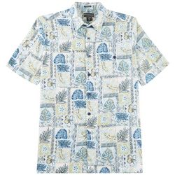 Weekender Mens Java Palms Short Sleeve Shirt