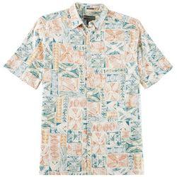 Weekender Mens Retreat Woven Short Sleeve Shirt