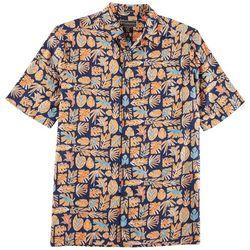 Weekender Mens Java Leaf Short Sleeve Shirt