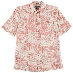 Weekender Mens Tropical Forest Short Sleeve Shirt