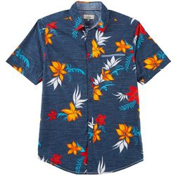 Burnside Mens Rio Print Shirt