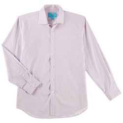 Christian Aujard Mens Ditsy Diamond Stretch Collar Shirt