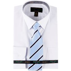 Alexander Julian Mens Dress Shirt & Diagonal Stripe