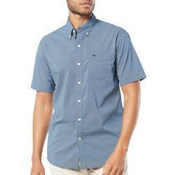 Dockers Mens Comfort Flex Wavy Short Sleeve Shirt