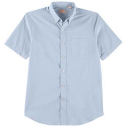 Dockers Mens Signature Comfort Flex Solid Button Down