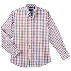 Dockers Mens Autumn Plaid Comfort Stretch Shirt