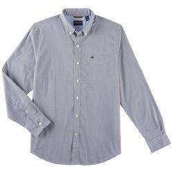 Dockers Mens Comfort Stretch Plaid Long Sleeve Shirt