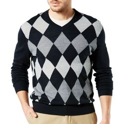 Dockers Mens Argyle Pullover Sweater